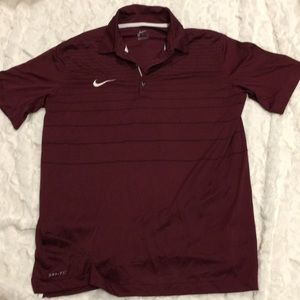 Nike Dri-fit polo. Medium.